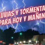 Norte de Santa Fe – LLUVIAS Y TORMENTAS PARA HOY Y MAÑANA