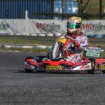 Karting – En el IAME, Giuliano Pereson redondeo una buena tercera fecha
